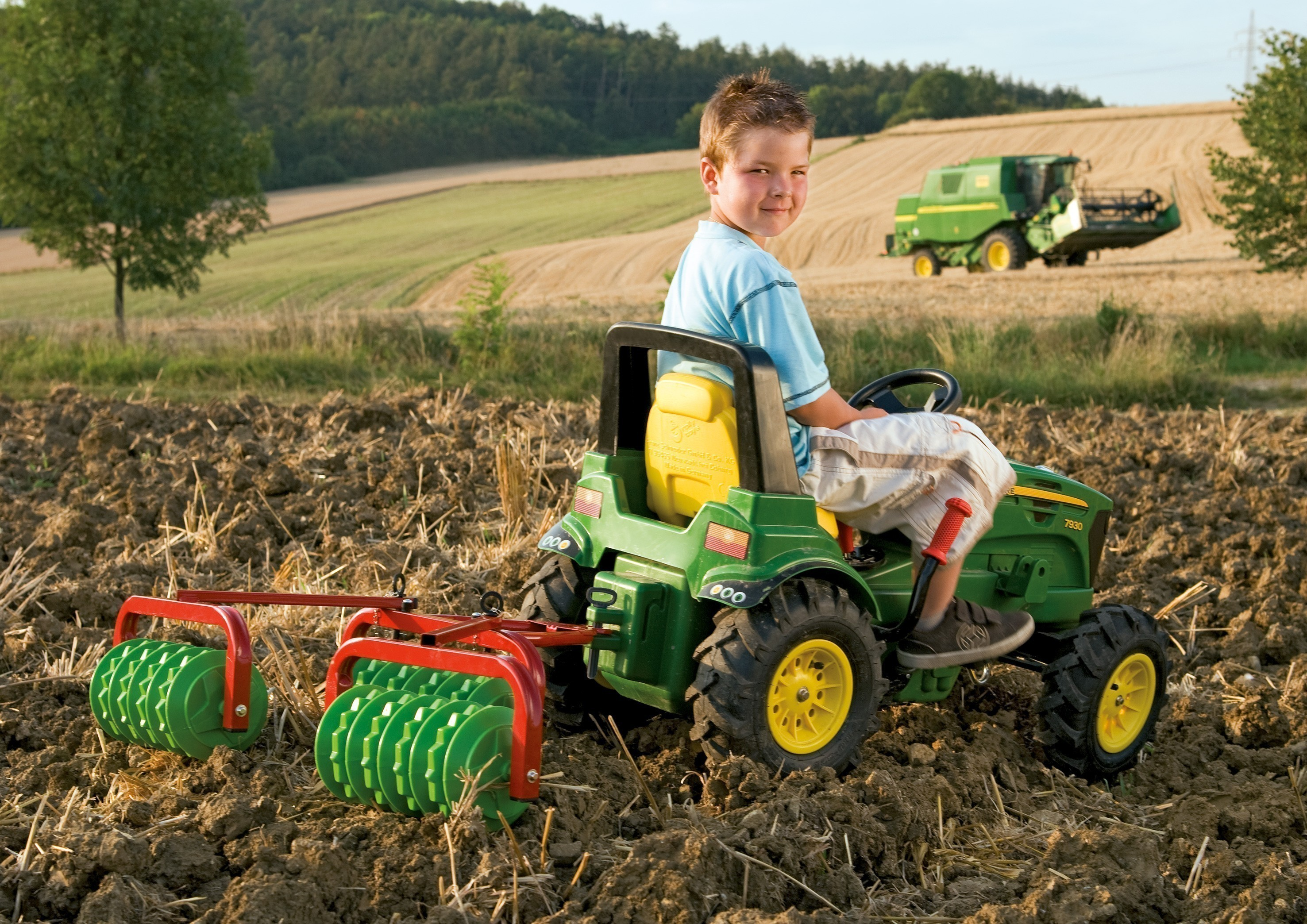 Cambridge Walze für Tretfahrzeuge - Rolly Toys Bild 2