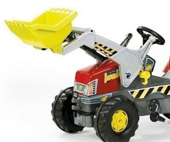 Frontlader für Tretfahrzeug rolly Junior Lader - Rolly Toys Bild 2