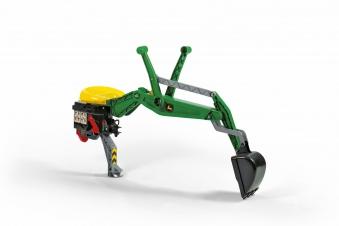 Heckbagger für Tretfahrzeug rolly Heckbagger John Deere - Rolly Toys Bild 1