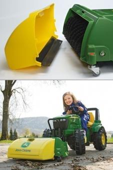 Kehrmaschine für Tretfahrzeug rolly Trac Sweeper John Deere Rolly Toys Bild 2
