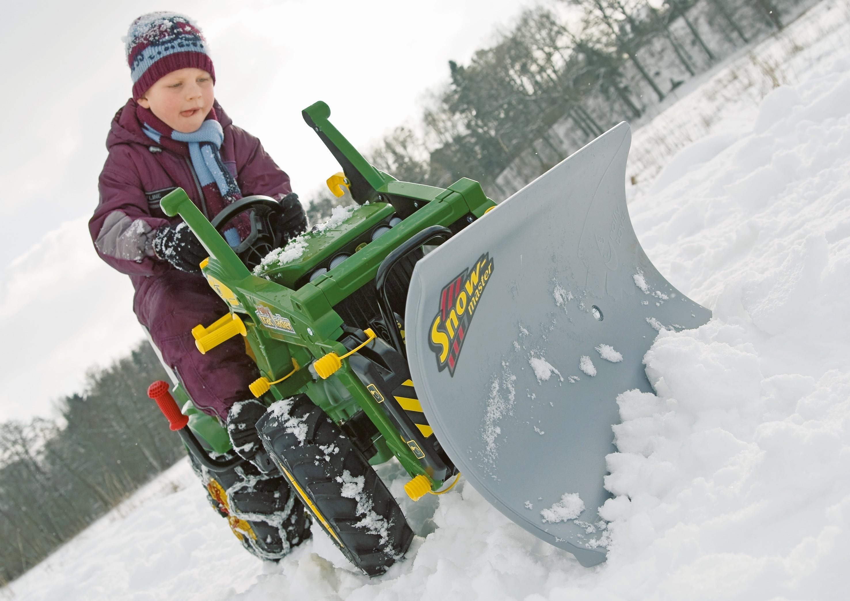 Planierschild für Tretfahrzeug rolly Snow Master - Rolly Toys Bild 2