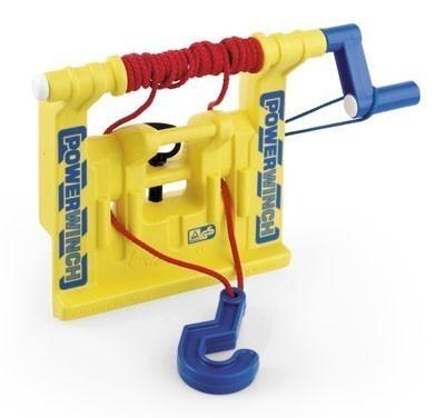 Seilwinde für Tretfahrzeug rolly Powerwinch gelb - Rolly Toys Bild 1