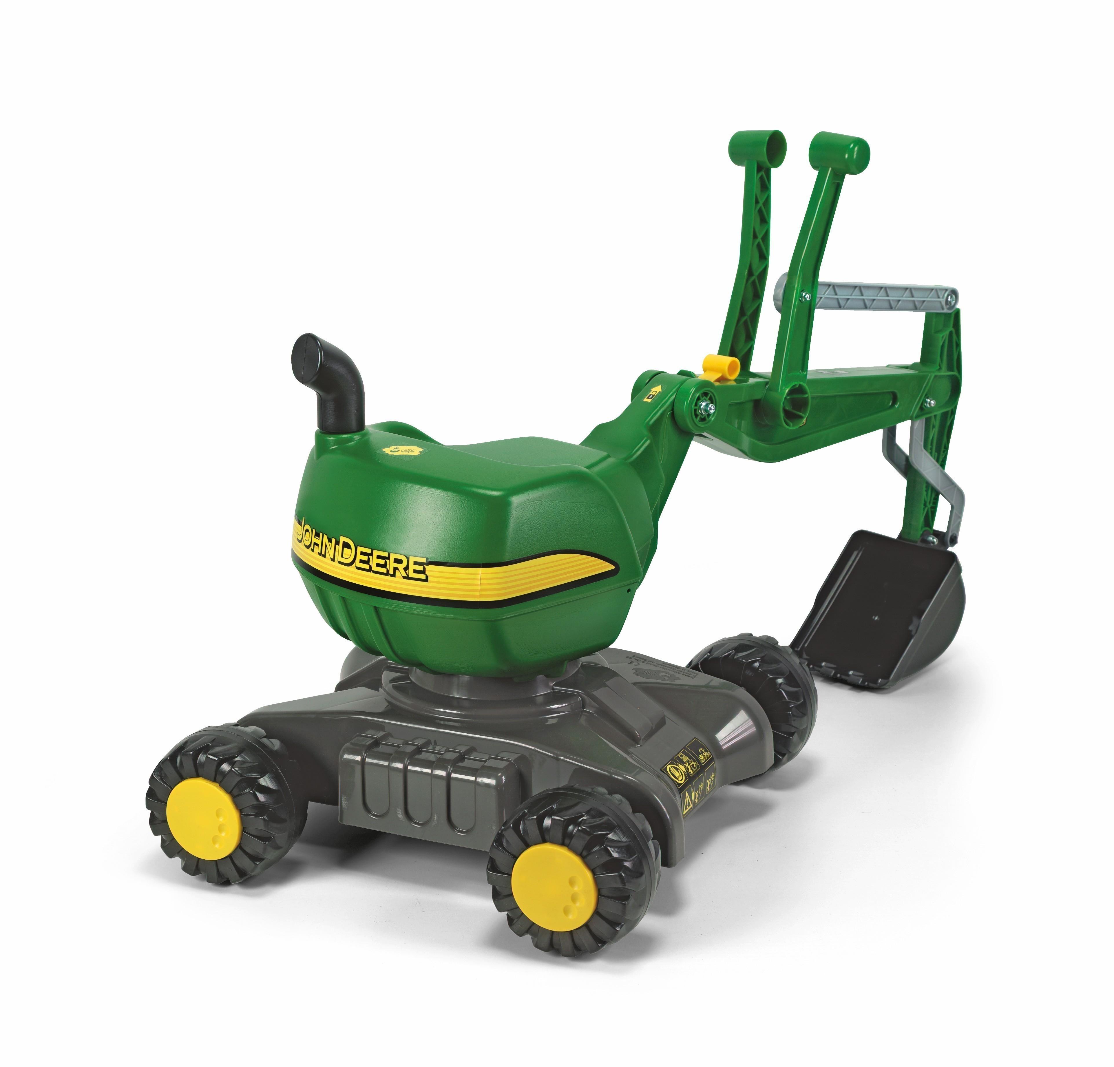 Rutschfahrzeug / Spielzeug-Bagger rolly Digger John Deere - Rolly Toys Bild 2