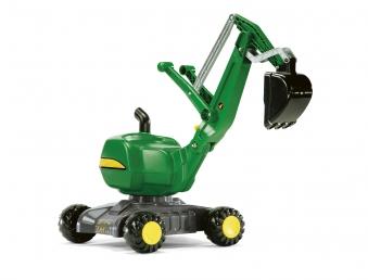 Rutschfahrzeug / Spielzeug-Bagger rolly Digger John Deere - Rolly Toys Bild 1