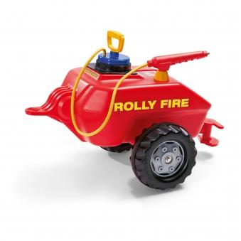 Anhänger für Tretfahrzeug Feuerwehr rolly Fire - Rolly Toys