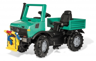 Tretfahrzeug rolly Unimog Forst Powerwinch - Rolly Toys