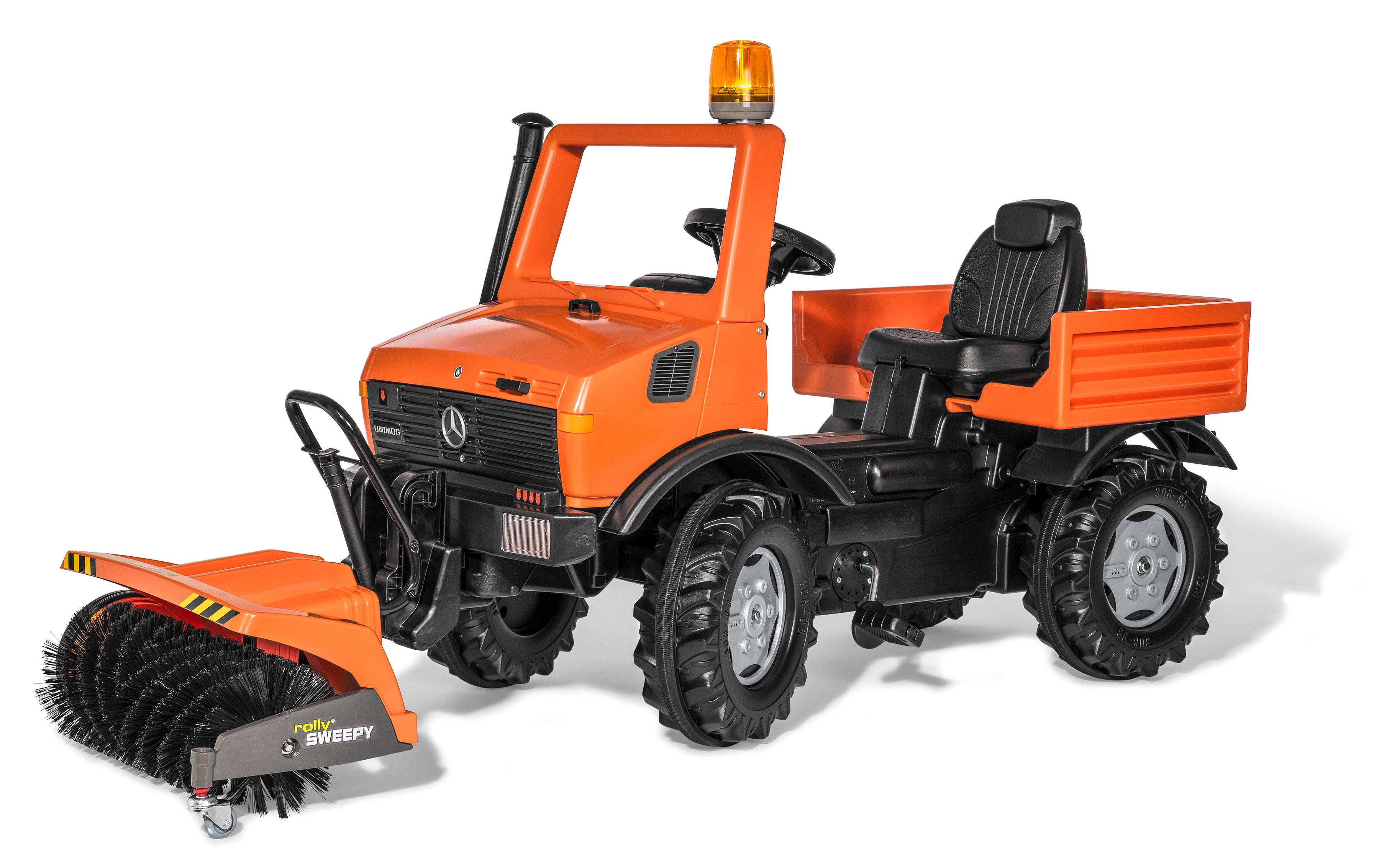 Tretfahrzeug rolly Unimog Service Sweepy Flashlight - Rolly Toys Bild 2
