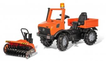 Tretfahrzeug rolly Unimog Service Sweepy Flashlight - Rolly Toys Bild 1