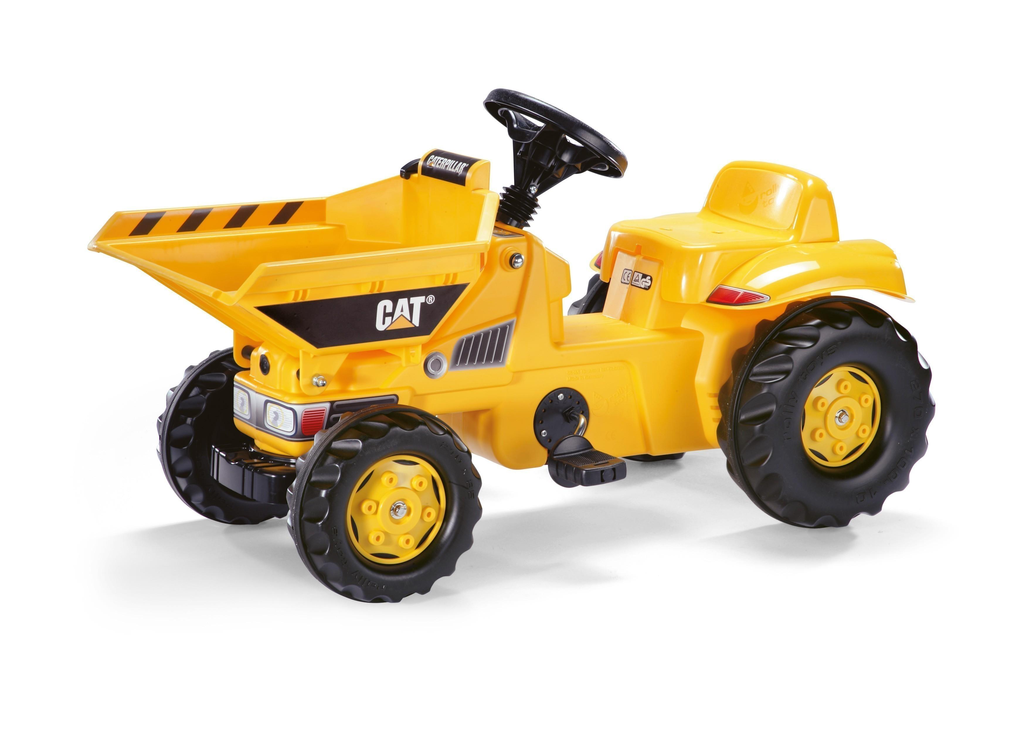 Trettraktor Dumper rolly Kid CAT - Rolly Toys Bild 1