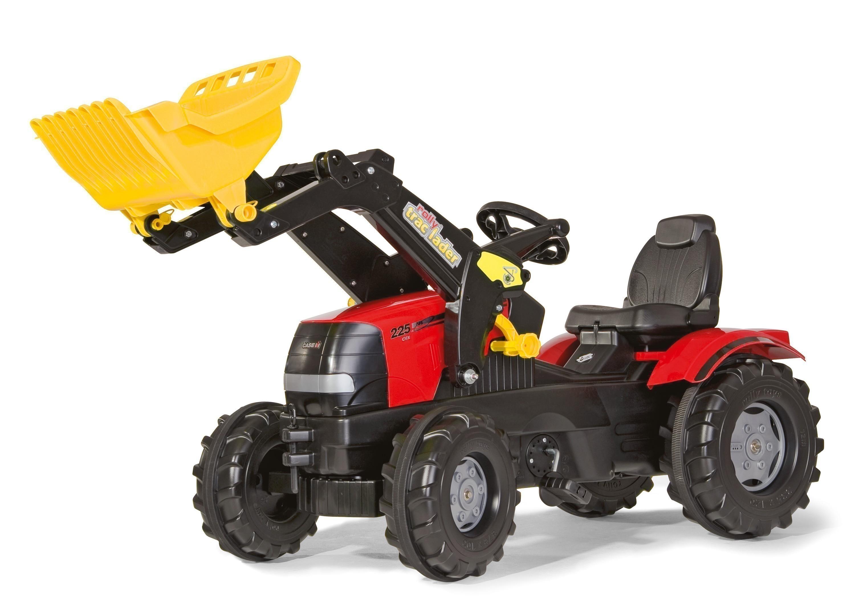 Trettraktor rolly Farmtrac Case Puma Frontlader - Rolly Toys Bild 1