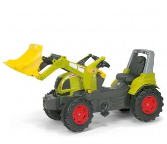 Trettraktor rolly Farmtrac Claas Arion mit Frontlader - Rolly Toys Bild 1