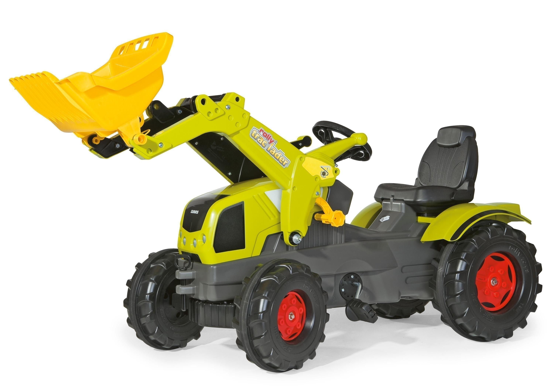 Trettraktor rolly Farmtrac Claas Axos Frontlader - Rolly Toys Bild 1