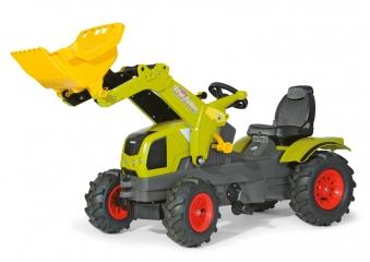 Trettraktor rolly Farmtrac Claas Axos Luftreifen - Rolly Toys Bild 1