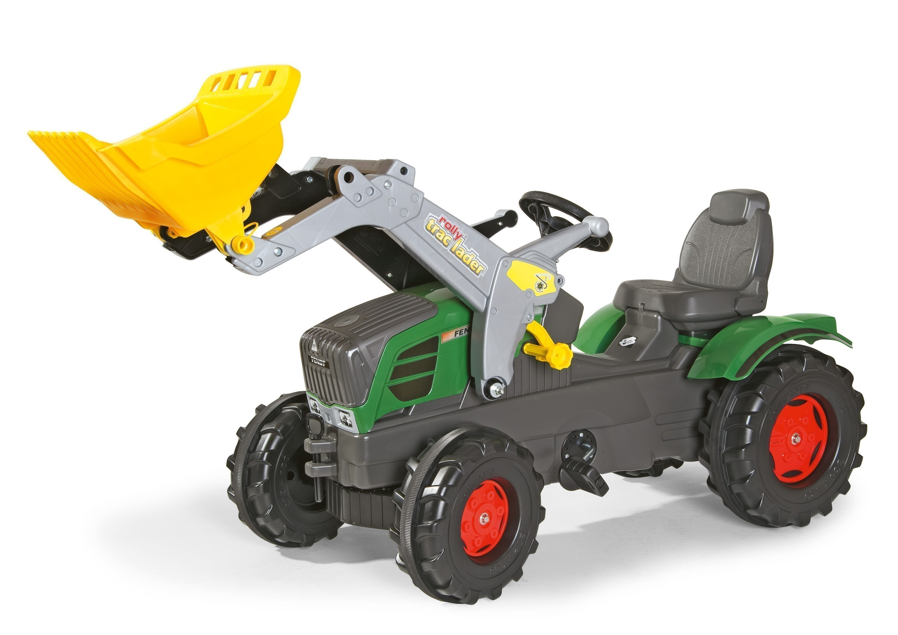Trettraktor rolly Farmtrac Fendt 211 Vario Frontlader - Rolly Toys Bild 1
