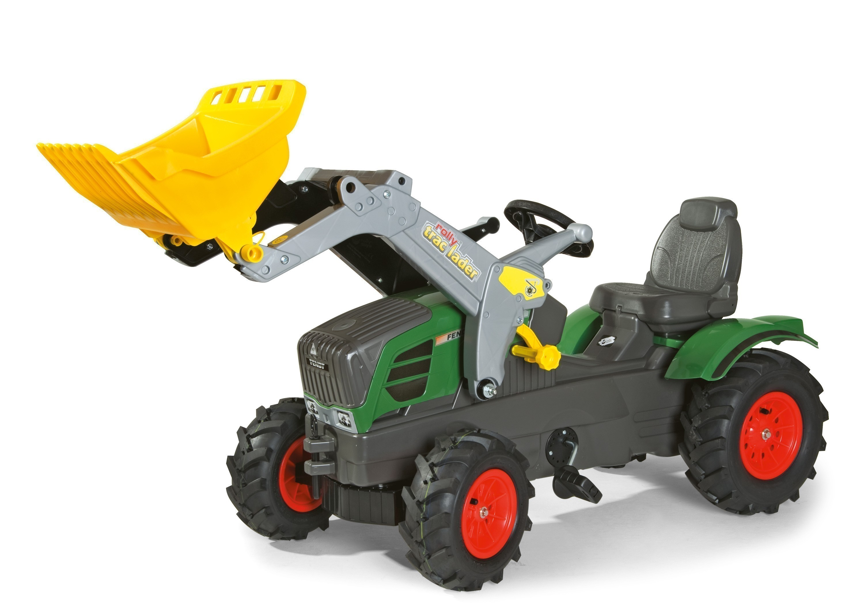 Trettraktor rolly Farmtrac Fendt 211 Vario Luftreifen - Rolly Toys Bild 1
