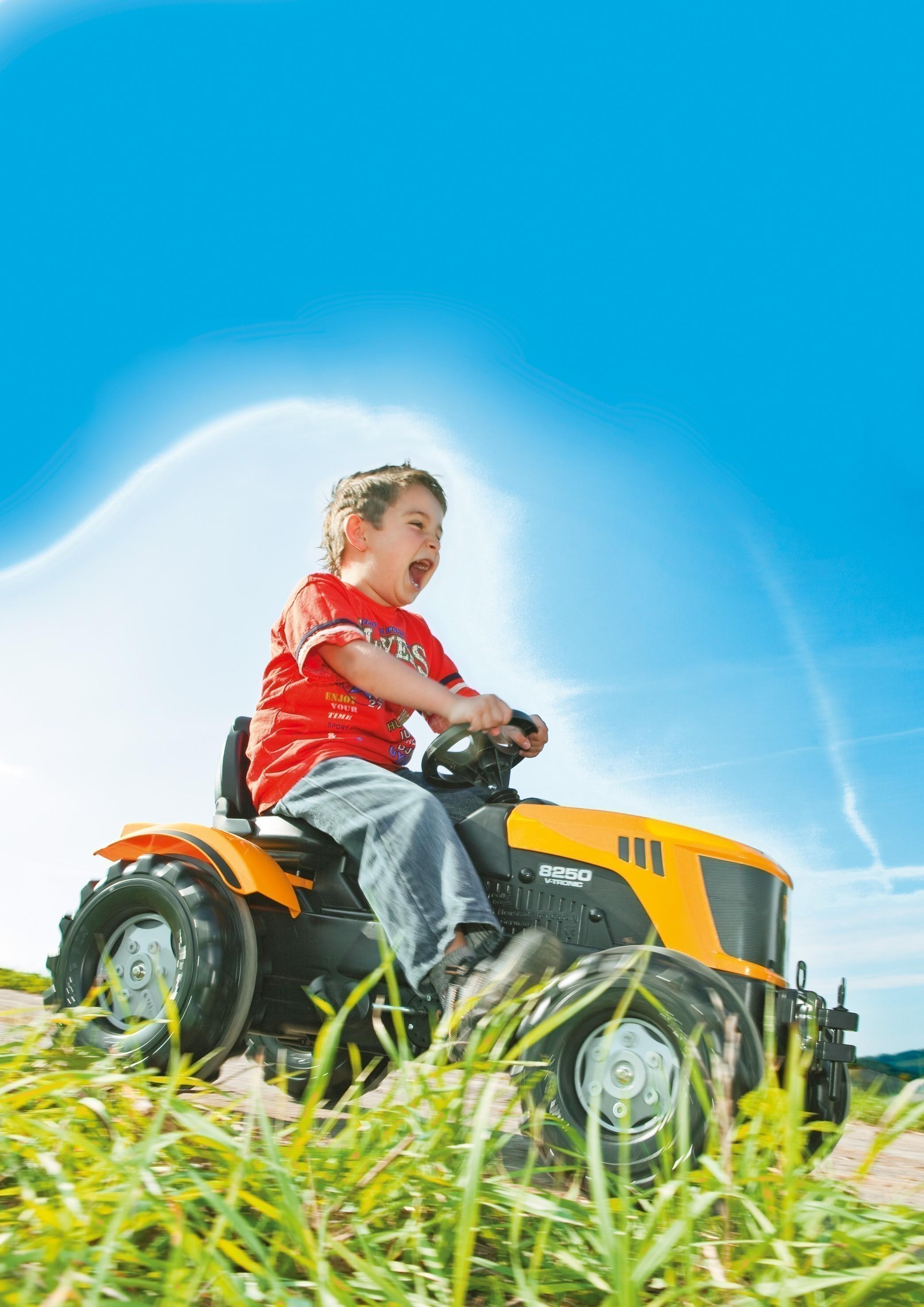 Trettraktor rolly Farmtrac JCB 8250  - Rolly Toys Bild 3
