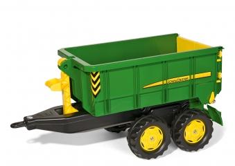 Anhänger für Tretfahrzeug rolly Container John Deere - Rolly Toys