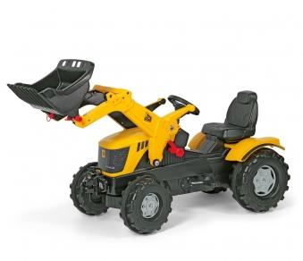 Trettraktor rolly Farmtrac JCB 8250 mit Frontlader - Rolly Toys Bild 1