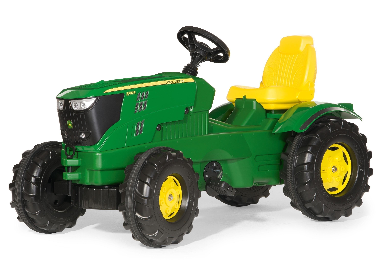 Trettraktor rolly Farmtrac John Deere 6210 R - Rolly Toys Bild 1