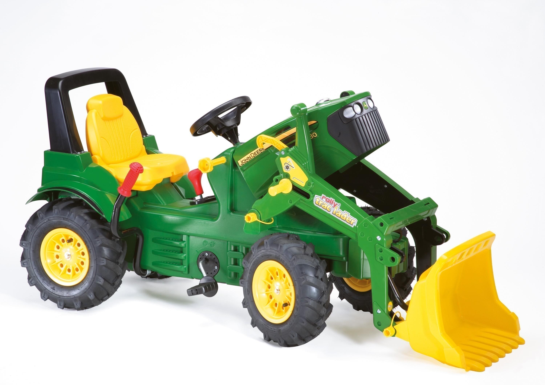 Trettraktor rolly Farmtrac John Deere 7930 Luftreifen - Rolly Toys Bild 2