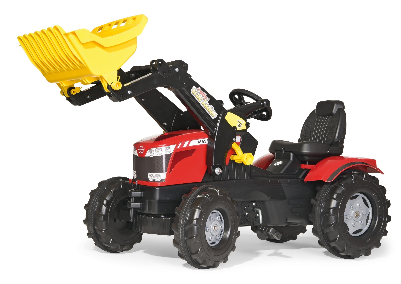 Trettraktor rolly Farmtrac Massey Ferguson 8650 Frontlader Rolly Toys Bild 1
