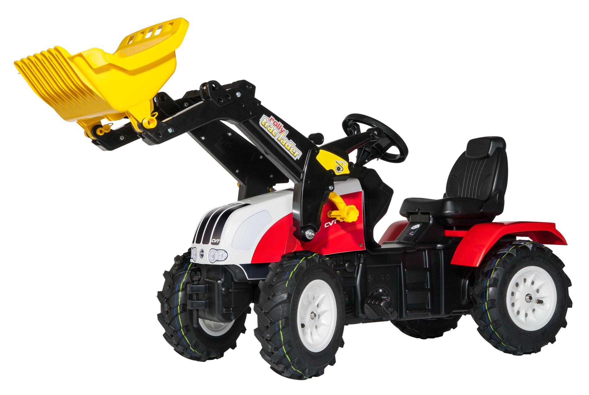 Trettraktor rolly Farmtrac Steyr CVT 6230 Luftbereif. - Rolly Toys Bild 1