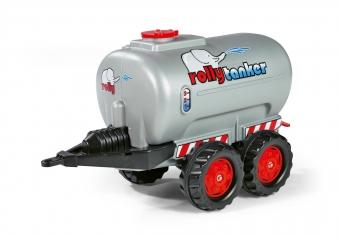 Anhänger für Tretfahrzeug rolly Tanker silber - Rolly Toys