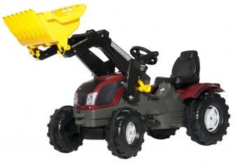 Trettraktor rolly Farmtrac Valtra T213 mit Frontlader - Rolly Toys Bild 1