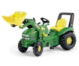 Trettraktor rolly X-Trac John Deere mit Frontlader - Rolly Toys Bild 1
