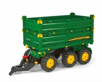 Anhänger für Tretfahrzeug rolly Multi Trailer John Deere - Rolly Toys