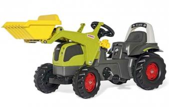 Trettraktor rollyKid Claas Elios Frontlader - Rolly Toys Bild 1