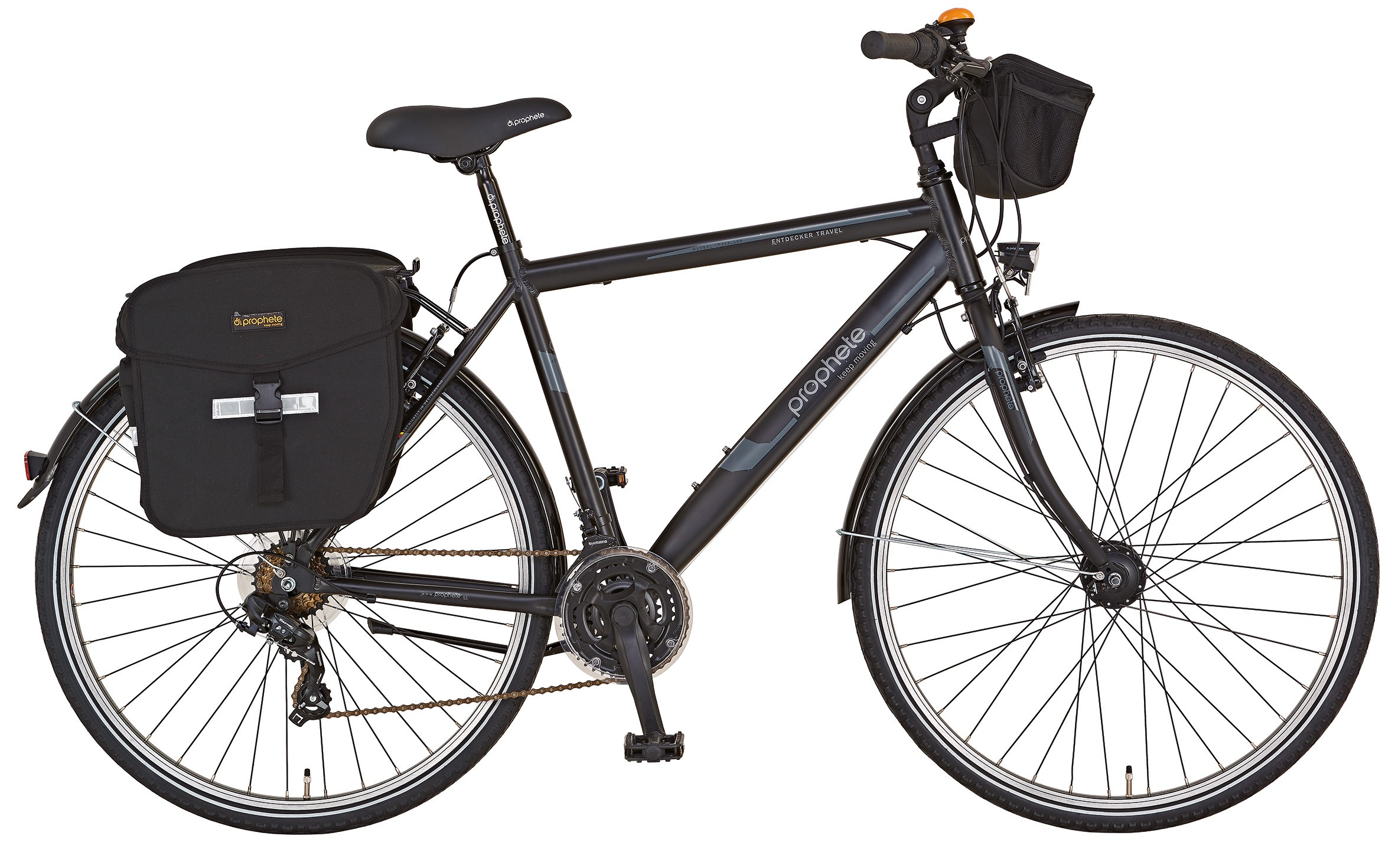 fahrrad trekkingrad alu trekking herren entdecker travel 28 prophete bei. Black Bedroom Furniture Sets. Home Design Ideas
