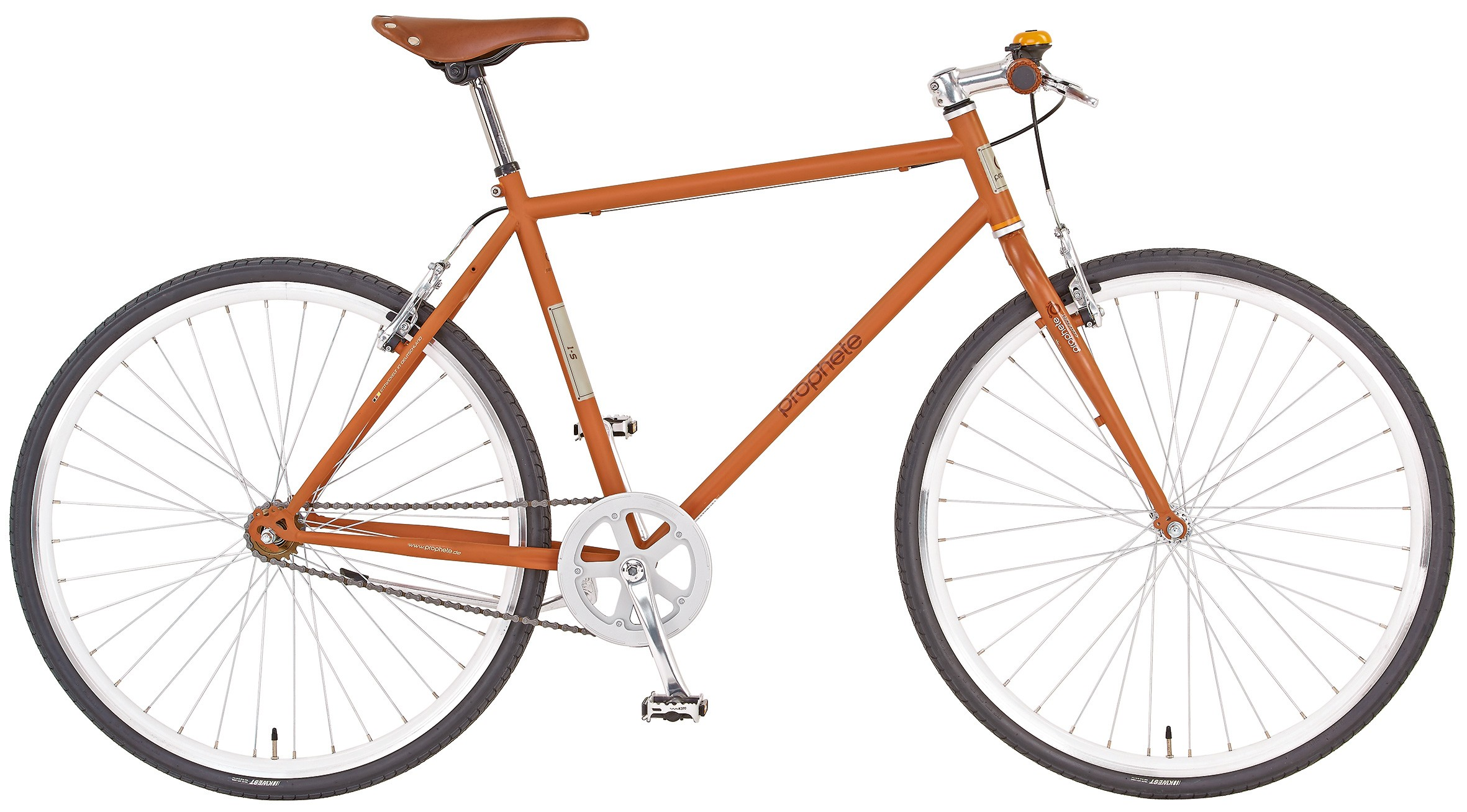 fahrrad trekkingrad herren singlespeed bike prophete 1 s. Black Bedroom Furniture Sets. Home Design Ideas