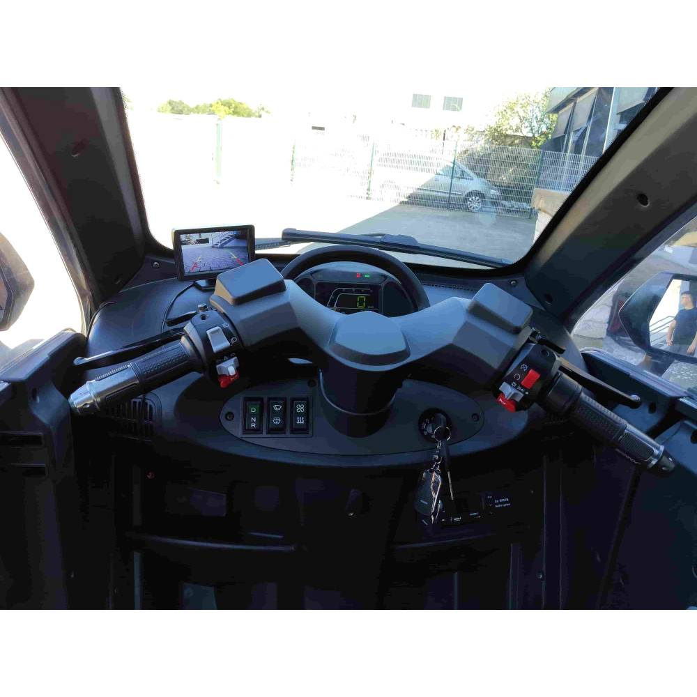 Kabinenroller - Elektroroller - Elektro Kabinenroller - Rollerauto Bild 12